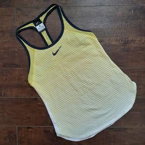 Nike Slam Breathe Tank Top Yellow Size XS